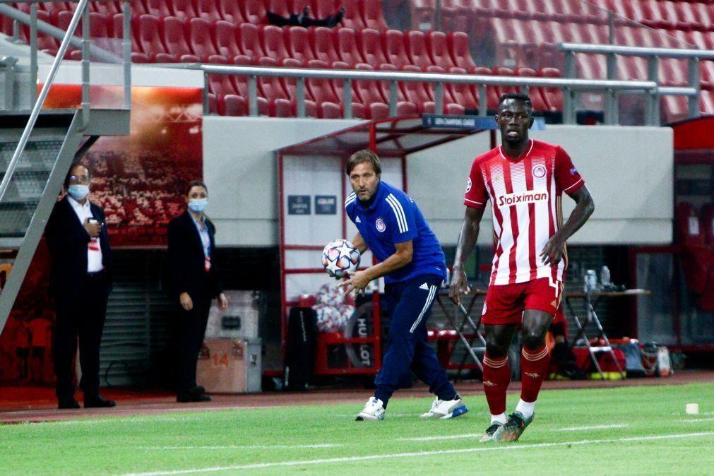 Olympiacos, de Pedro Martins, vence em casa e PAOK, de Abel Ferreira, empata fora