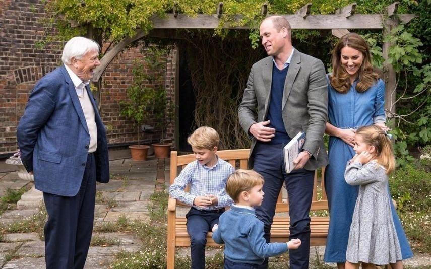 As novas fotos dos filhos de William e Kate que estão a encantar a internet