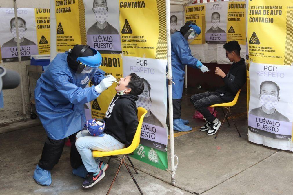 Covid-19: México regista 560 mortos e 4.446 casos nas últimas 24 horas