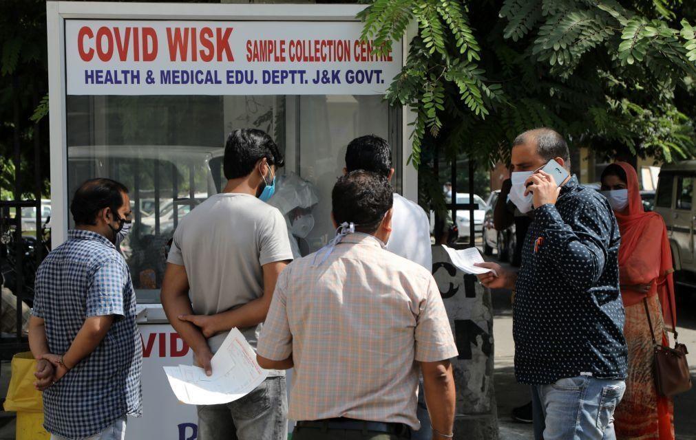 Covid-19: Índia registou 1.179  mortes e 80.472 casos nas últimas 24 horas