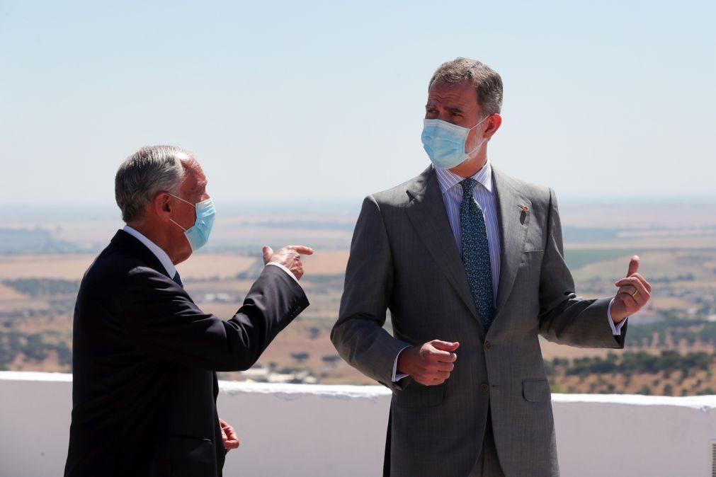 Marcelo e Felipe VI encontram-se na quinta-feira na Galiza antes do Fórum La Toja