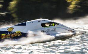 Benavente fica em segundo e adia decisão do mundial de motonáutica para domingo