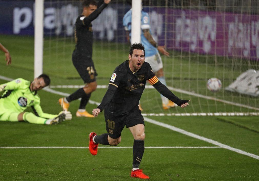 FC Barcelona volta a ganhar para a Liga espanhola