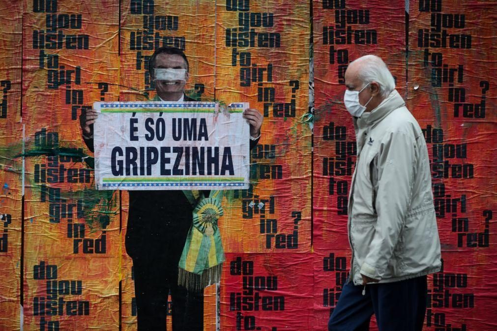 Covid-19: Brasil regista 144.680 óbitos e mais de 4,8 milhões de casos