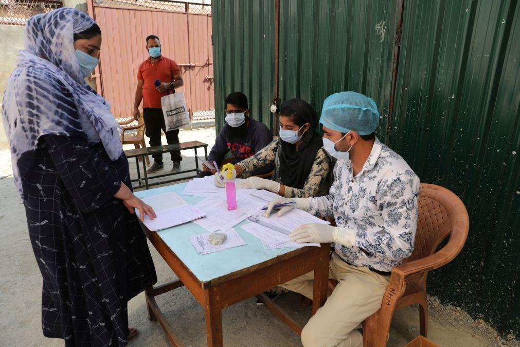 Covid-19: Índia regista 1.095 mortes e mais de 81 mil casos nas últimas 24 horas