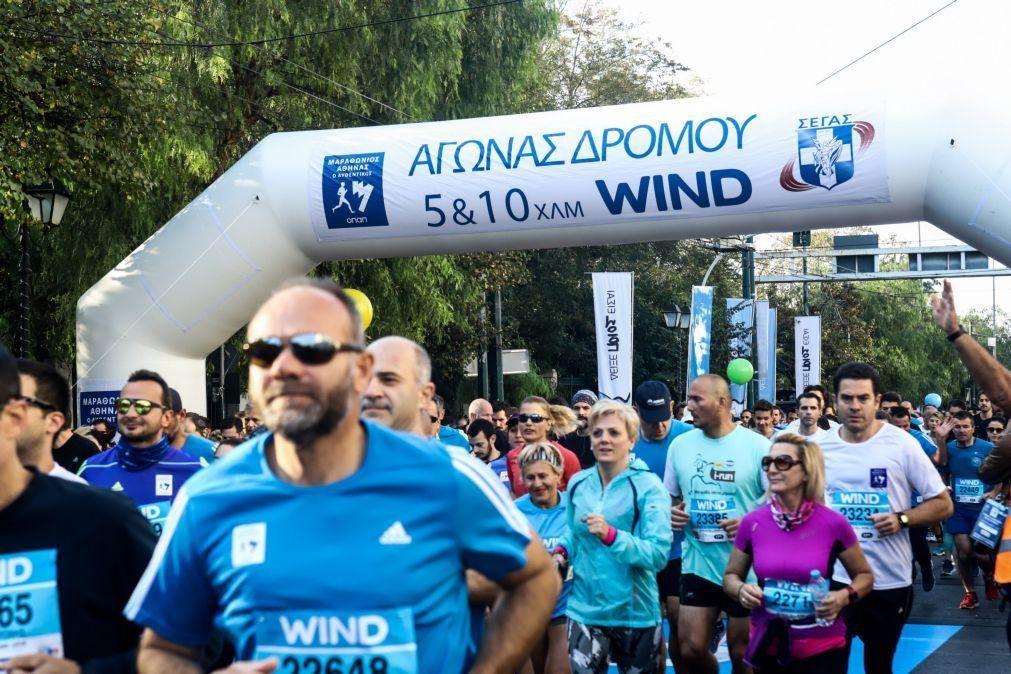 Covid-19: Maratona de Atenas cancelada