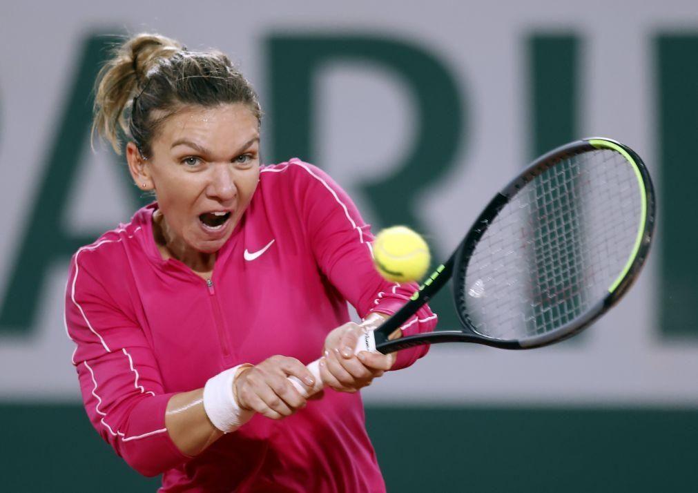 Roland Garros: Halep qualifica-se para a quarta ronda em menos de uma hora