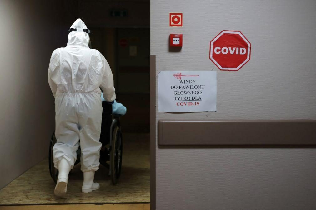 Covid-19: Contágios disparam na Polónia com novo recorde diário de 2.292 casos