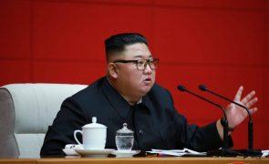 Kim Jong-Un deseja a Donald Trump que recupere