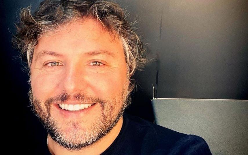 César Mourão Revela a primeira (e ternurenta) imagem do rosto do filho recém-nascido