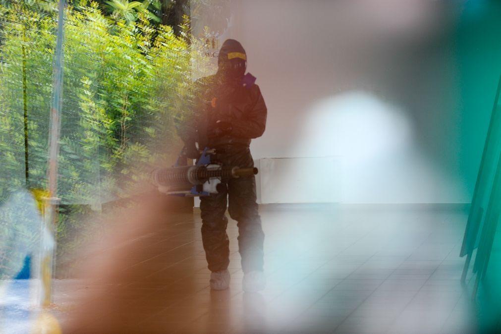 Covid-19: Utentes retirados temporariamente para desinfeção do lar em Salto, Montalegre