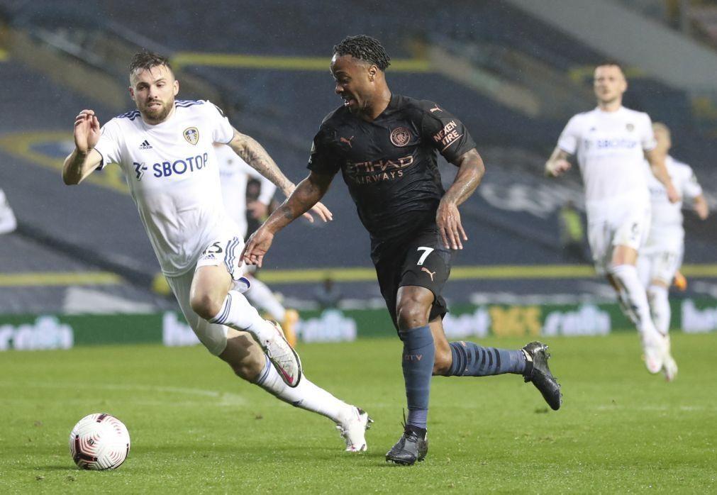 Manchester City empata em Leeds na estreia de Rúben Dias