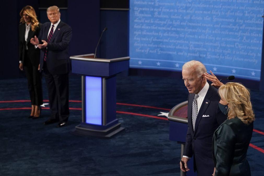 Covid-19: Joe Biden com teste negativo pela terceira vez desde sexta-feira