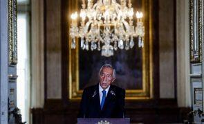 Marcelo Rebelo de Sousa defende ser a oportunidade para mudar instituições e comportamentos