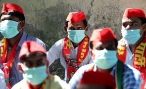Covid-19: Índia regista 986 mortos e mais de 72 mil casos nas últimas 24 horas