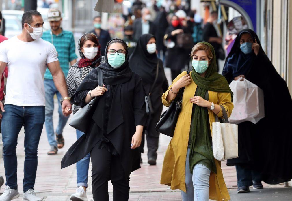 Covid-19: Irão atinge o maior número de mortes diárias pela doença com 239 óbitos