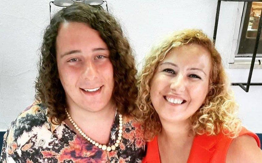 André filipe Ainda internado, escreve mensagem especial para a mãe