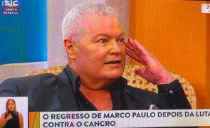 Marco Paulo sente-se mal em direto na SIC