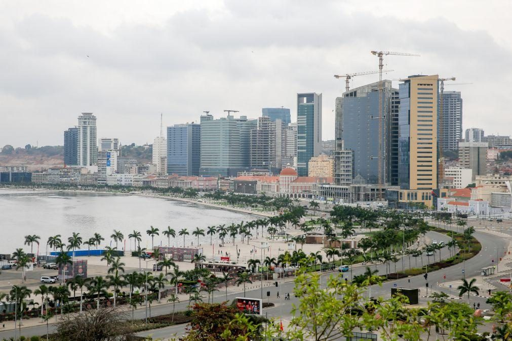 Angola estima recessão de 2,8% em 2020 e crescimento de 1% no próximo ano