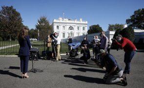Covid-19: Autoridades pedem a funcionários da Casa Branca para fazerem testes