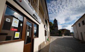 Covid-19: Receio afasta alunos da escola e clientes do comércio de Salto em Montalegre