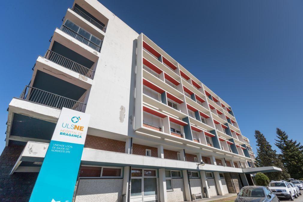 Covid-19: Cinco casos positivos na urgência do hospital de Bragança