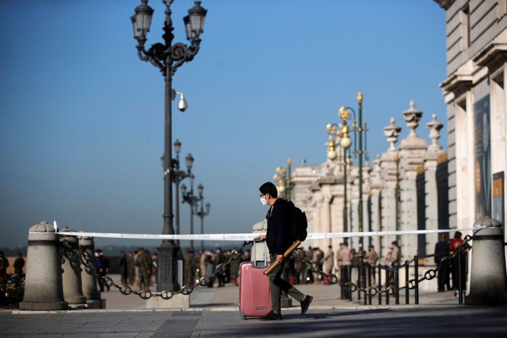 Covid-19: Espanha declara estado de emergência na região de Madrid