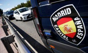 Covid-19: Mais de 7.000 polícias vão vigiar estado de emergência em Madrid