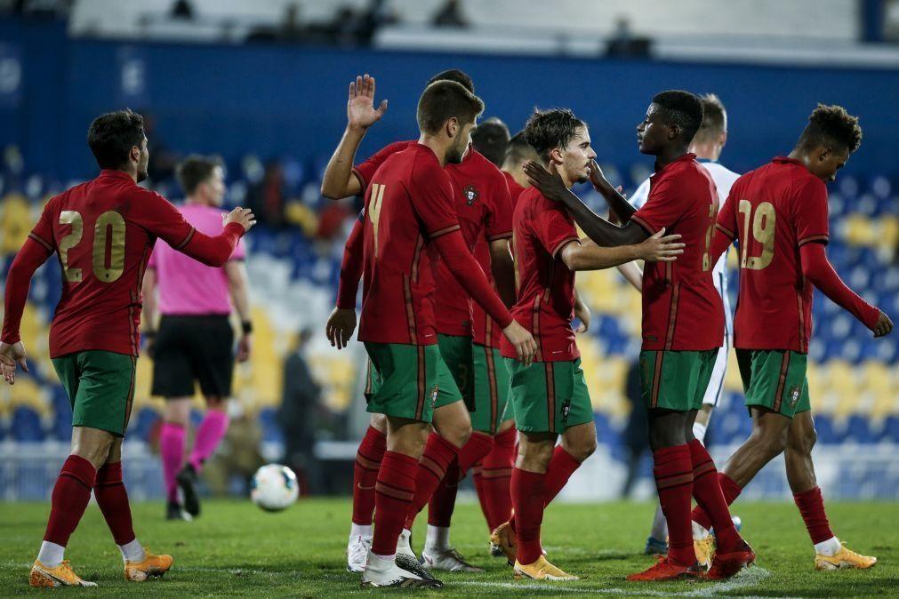 Portugal bate Noruega na qualificação para o Europeu de sub-21
