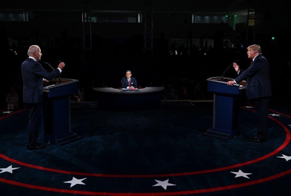 Cancelado segundo debate entre Trump e Biden
