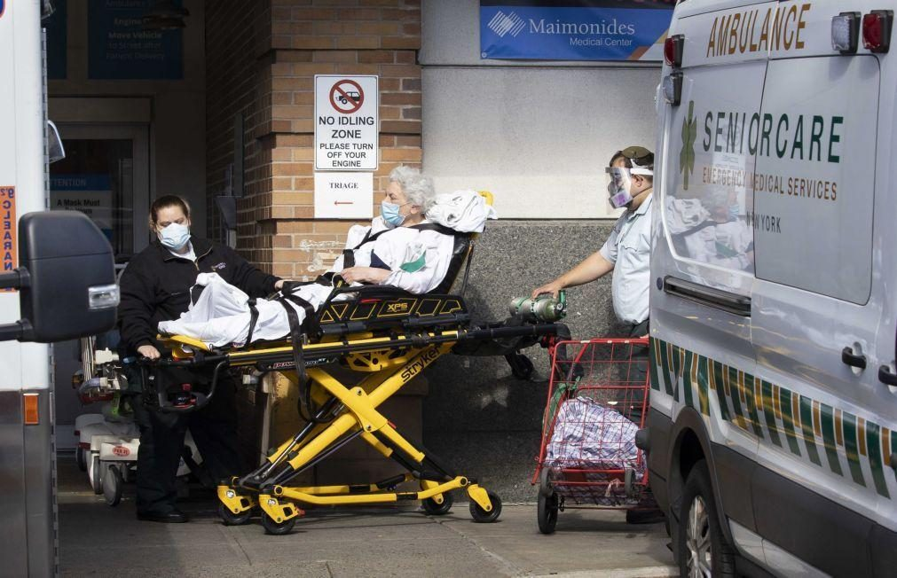 Covid-19: EUA com 938 mortos e 60.279 casos nas últimas 24 horas