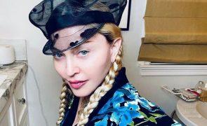 Madonna Vai deixar Lisboa e sente-se triste: «Está a ser bastante emotivo»