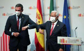 Sánchez diz que presidência portuguesa da UE dá segurança e confiança a Espanha
