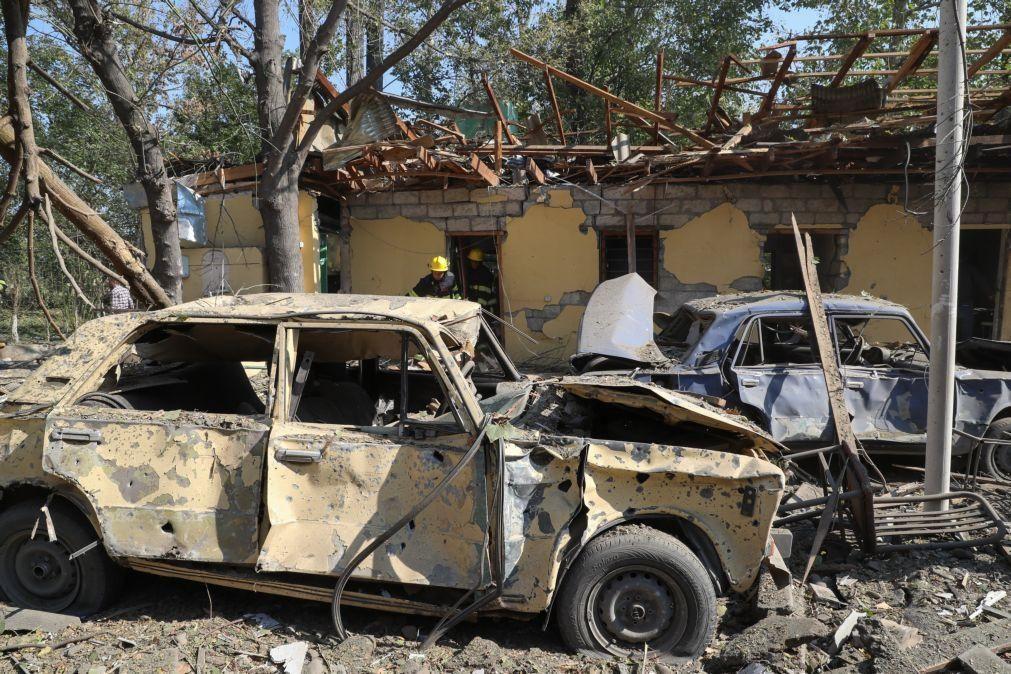 Nagorno-Karabakh: Bombardeamento causa sete mortos no Azerbaijão