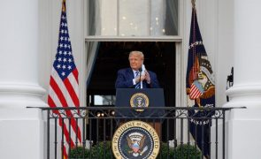 Trump diz que está imune à covid-19