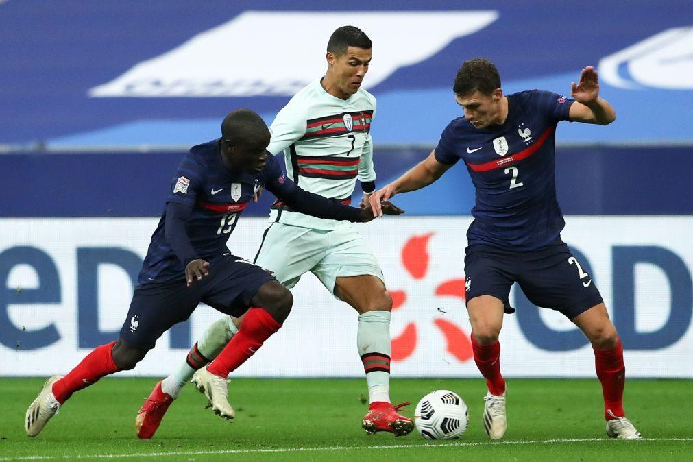 Portugal empata em França e segura liderança do Grupo 3 da Liga das Nações