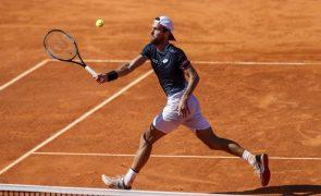 João Sousa cai para o 80.º lugar do 'ranking' mundial