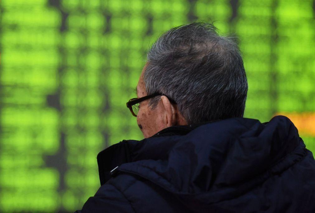 Bolsa de Xangai abriu a subir 0,47%