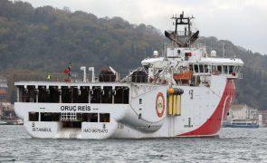 Grécia acusa Turquia de ameaçar a paz ao enviar novo navio para o Mediterrâneo