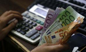Taxas Euribor caem a três e a 12 meses para novos mínimos e sobem a seis meses