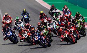 Covid-19: Mundial de Superbikes termina no Estoril em prova sem público
