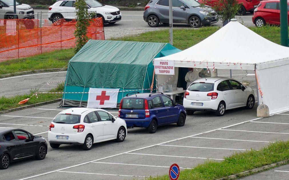Covid-19: Itália com 4.619 novos contágios e PM descarta novo confinamento total