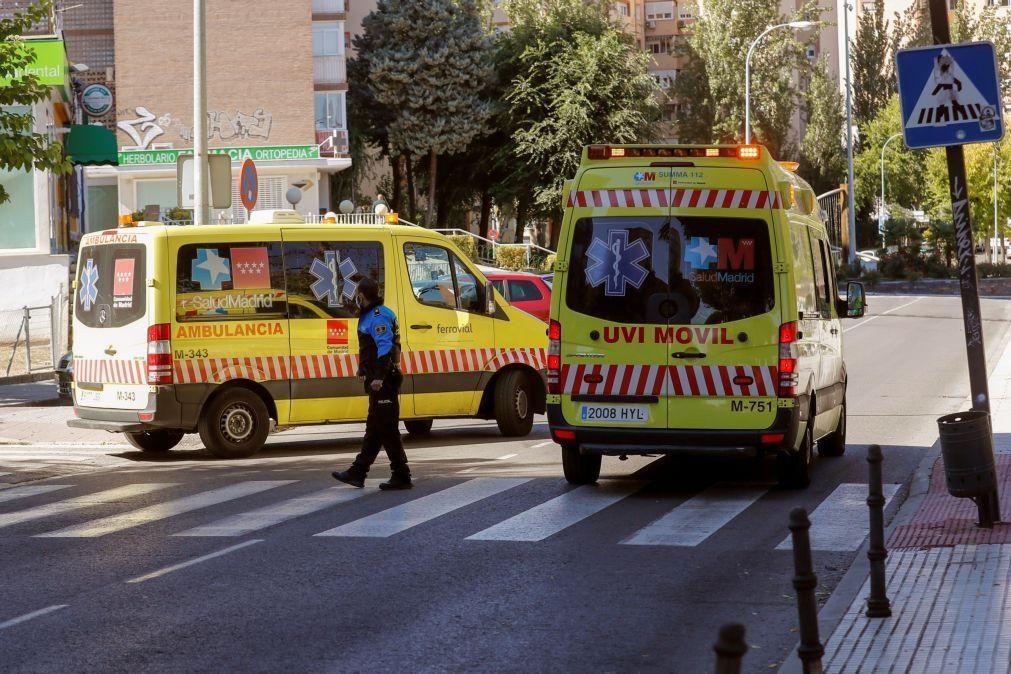 Covid-19: Espanha notifica 27.856 novos contágios e 195 mortes desde sexta-feira