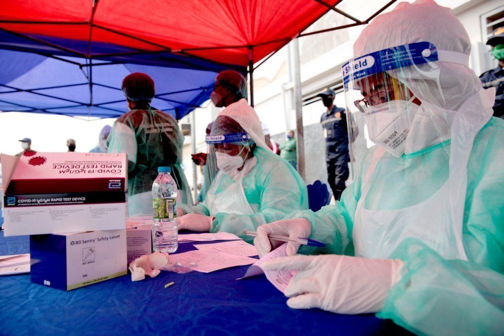 Covid-19: Angola regista mais 122 infeções, uma morte e um recuperado em 24 horas