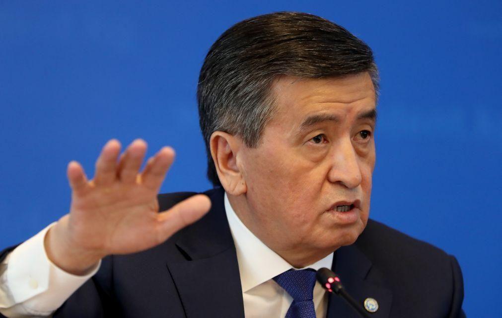 PR do Quirguistão decreta novo estado de emergência depois de prazo ter passado