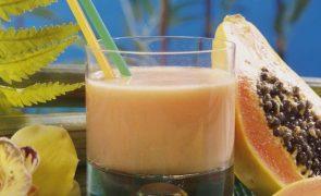 Sumo de Papaia Comece bem o dia com este batido delicioso... e natural!