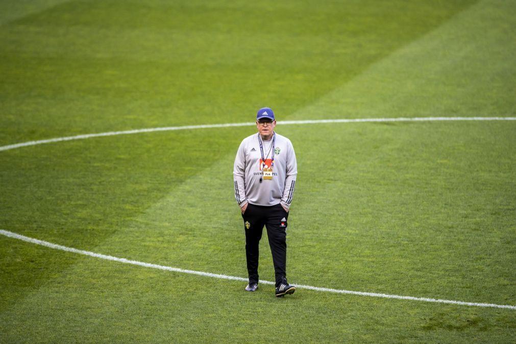 Selecionador sueco diz que ausência de Ronaldo não vai alterar nada