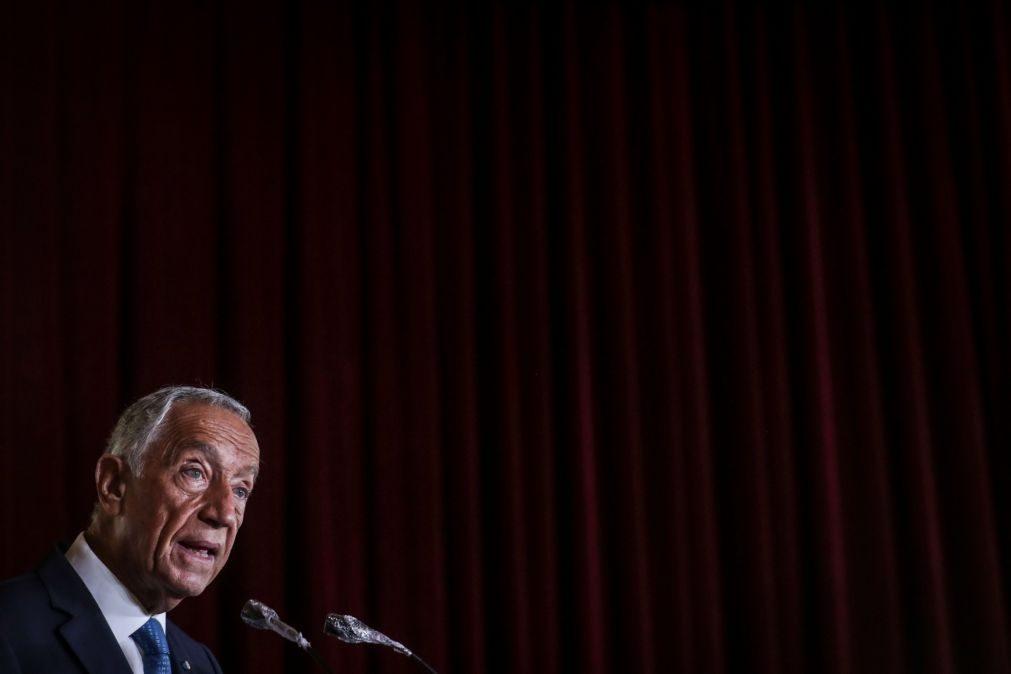 Mário Soares é referência para presidência portuguesa da EU, diz Marcelo Rebelo de Sousa