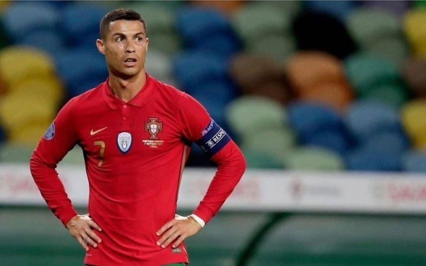 Ronaldo está infetado com covid-19 e isola-se num piso diferente da família