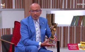 Troféus Impala de Televisão 2020. Manuel Luís Goucha feliz com prémio de melhor apresentador do ano